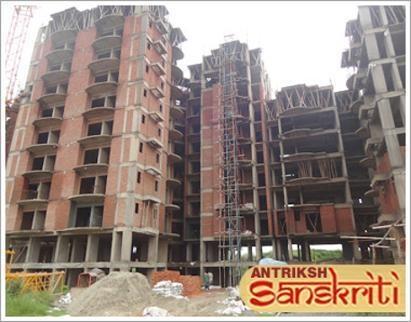 The Antriksh Sanskriti Construction Status