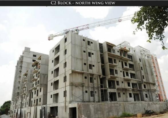 Janapriya Lake Front Construction Status
