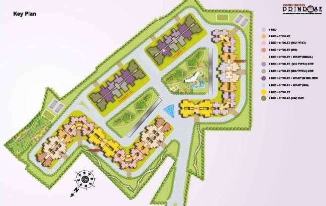 Panchsheel Primrose Layout Plan