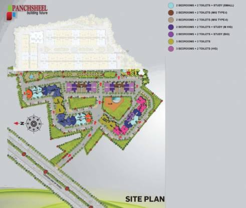 Panchsheel Primrose Site Plan