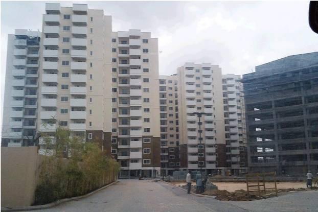 SNN Raj Serenity Construction Status