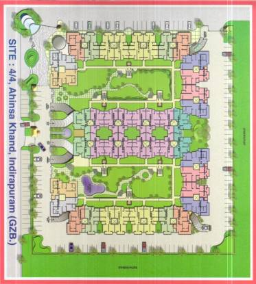 Rajhans Premier Apartment Site Plan