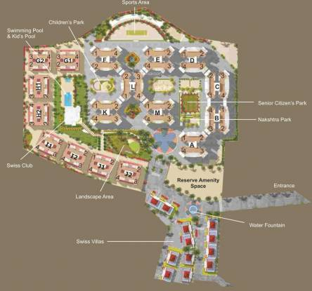 Rama Swiss County Site Plan