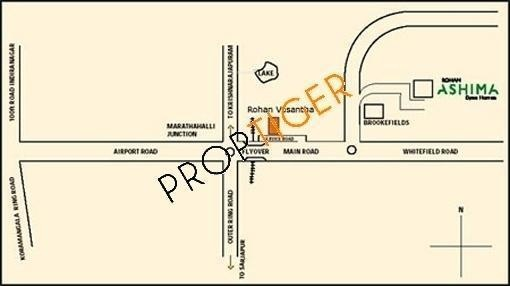 Rohan Ashima Location Plan
