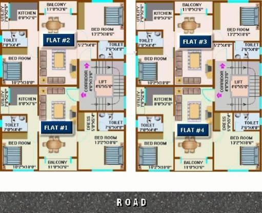 CMRS Periwinkle Residency Cluster Plan