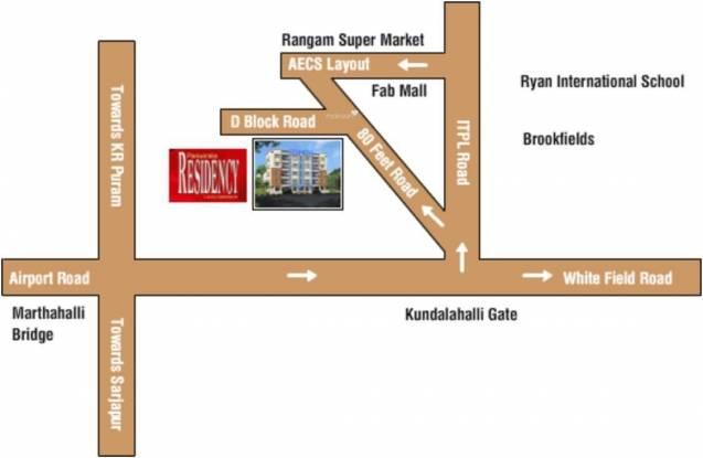 CMRS Periwinkle Residency Location Plan