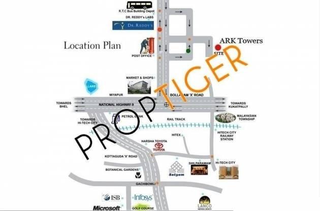 Alpine Court Apartments Location Plan