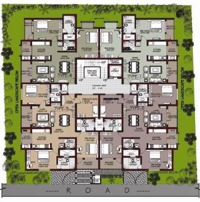 Habitat Mayflower Cluster Plan