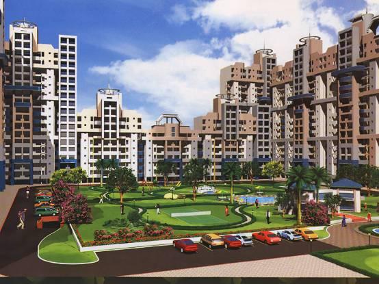 Jaipuria Sunrise Greens Apartment Elevation