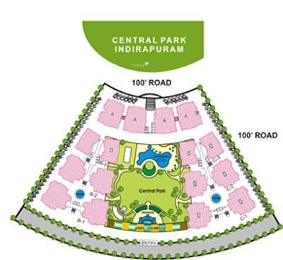 Nitishree Lotus Pond Blessed Homes Master Plan