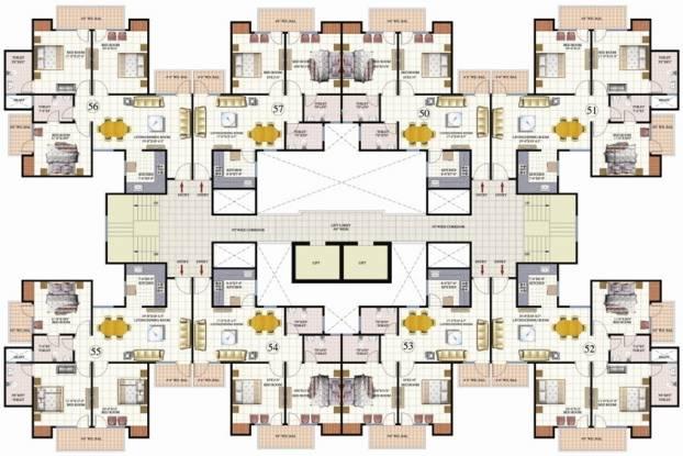 Mahagun Mahagunpuram Cluster Plan