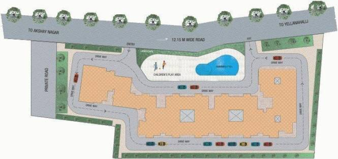 Janhavi Janhavi Shelters Layout Plan