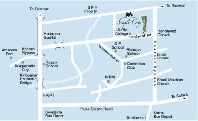 Magnus Simpli City Location Plan