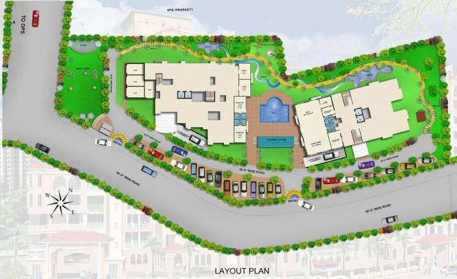 Rishabh Rishabh Platinum Layout Plan