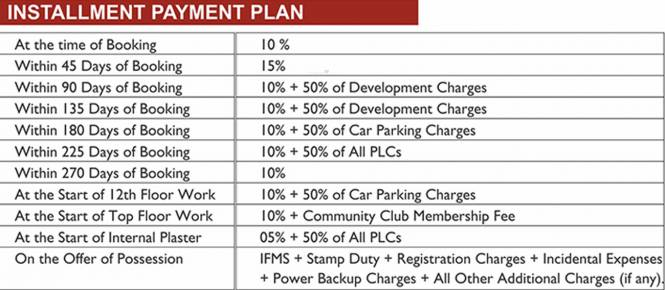 Earth Copia Payment Plan