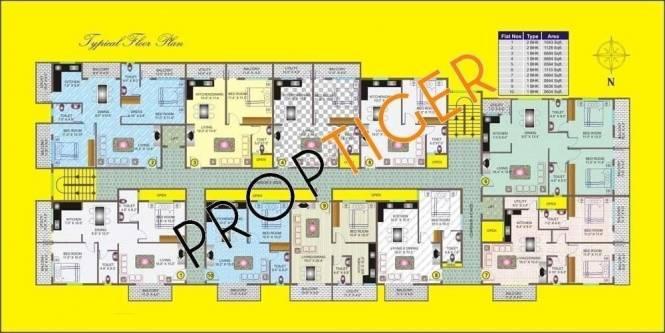 MDVR Anand Krishna Residency Master Plan