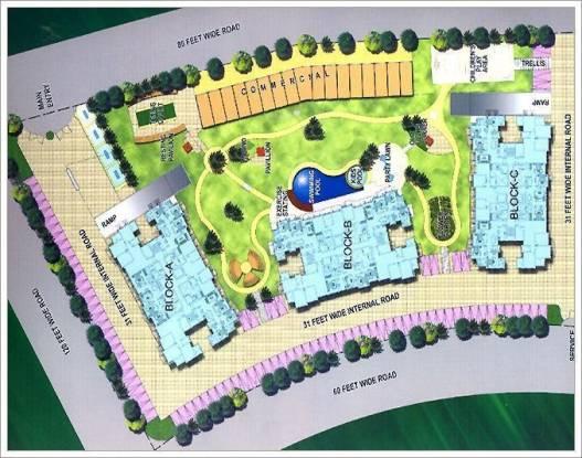 Mapsko Krishna Apra Sapphire Layout Plan