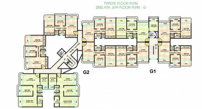 Sanghvi Shankheshwar Nagar Cluster Plan