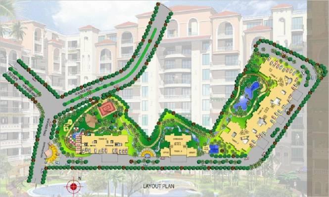 Rishabh Paradise Layout Plan