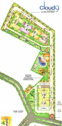 Rishabh Cloud9 Towers Site Plan