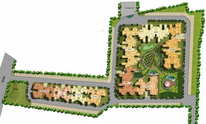 Amrapali Royal Site Plan