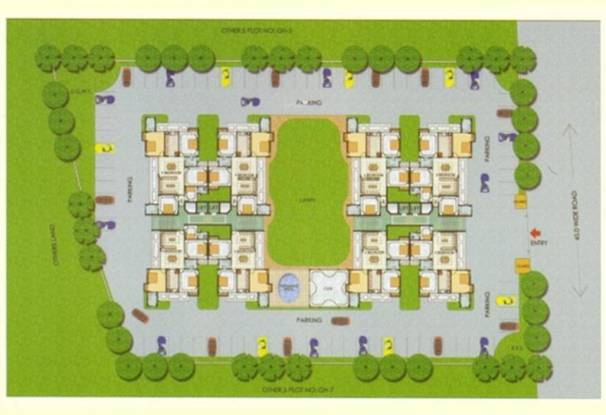 The Antriksh Greens Site Plan