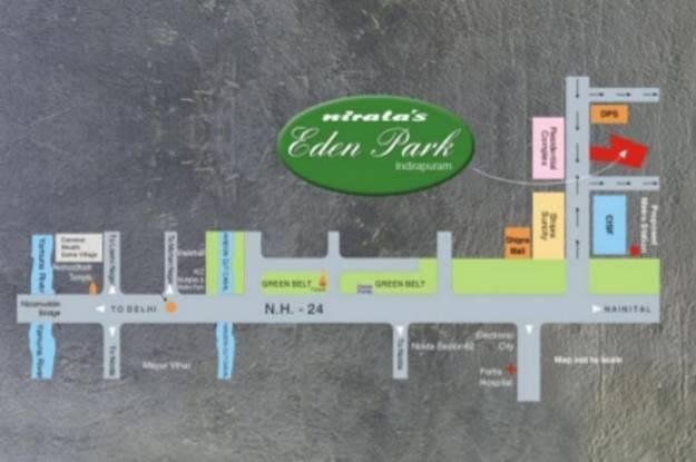 Nirala Eden Park II Location Plan