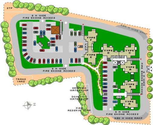 Sobha Daisy Site Plan