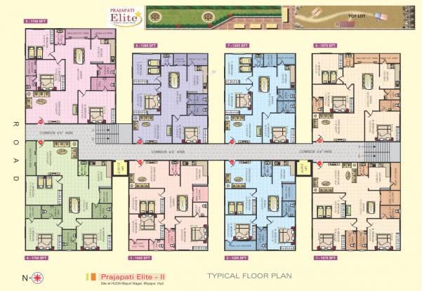 Prajapati Elite Cluster Plan