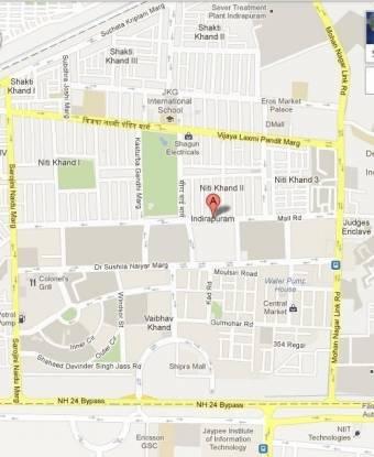 Gaursons Gaur Green City Location Plan