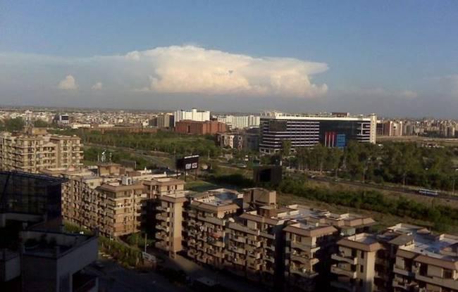 Gaursons Gaur Green City Elevation