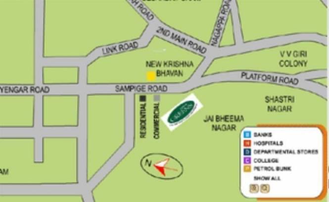 Mantri Mantri Greens Location Plan