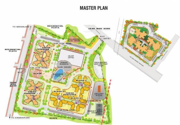 Sobha Suncrest Master Plan