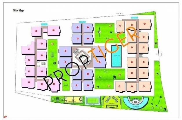Vishnu Parimala Trinity Site Plan