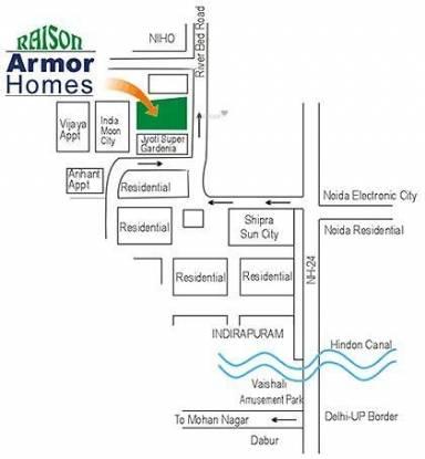 Raison Armor Homes Location Plan
