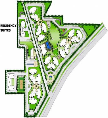 Bestech Park View Residency Master Plan