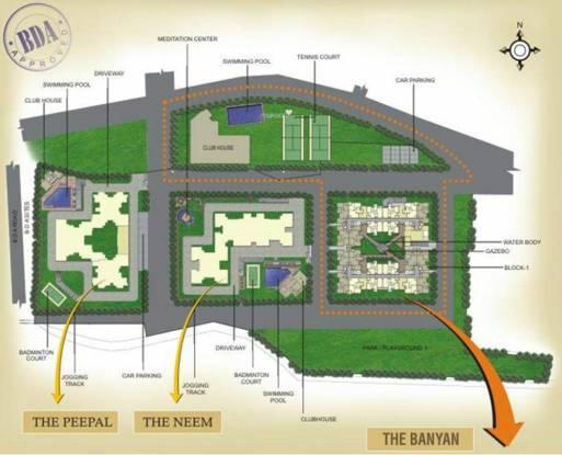 JSR The Banyan Master Plan