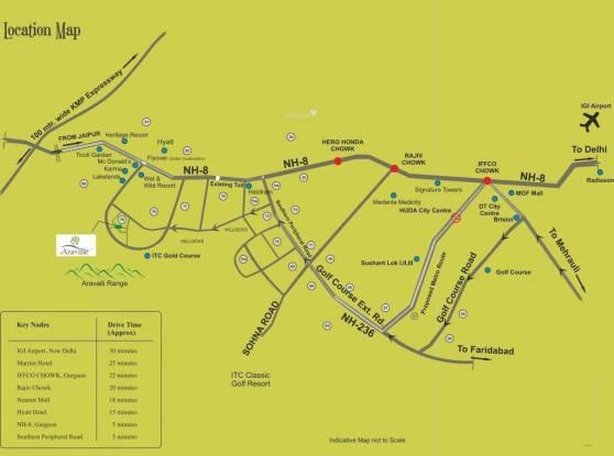 Supertech Araville Location Plan