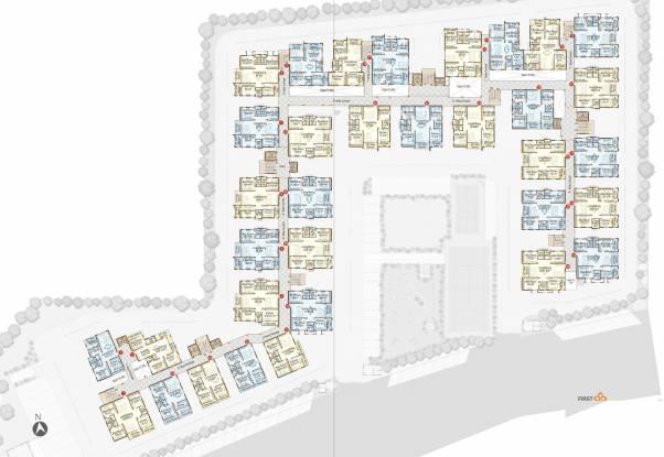 SMR Vinay Hi Lands Cluster Plan