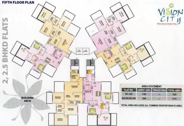 Siddhivinayak Phase I Vision City Cluster Plan