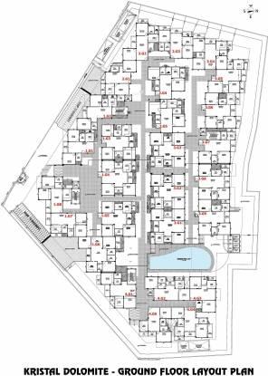 Kristal Dolomite Layout Plan