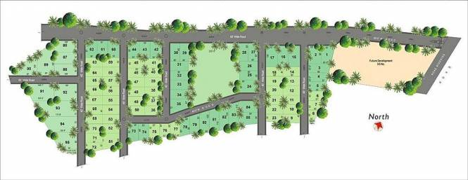 Lumbini SLN Springs Site Plan