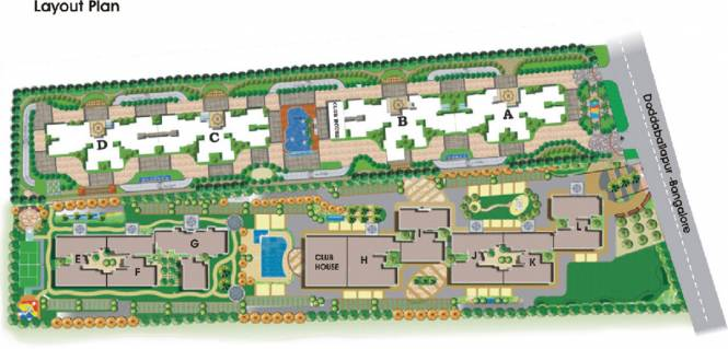 NCC Nagarjuna Meadows Layout Plan