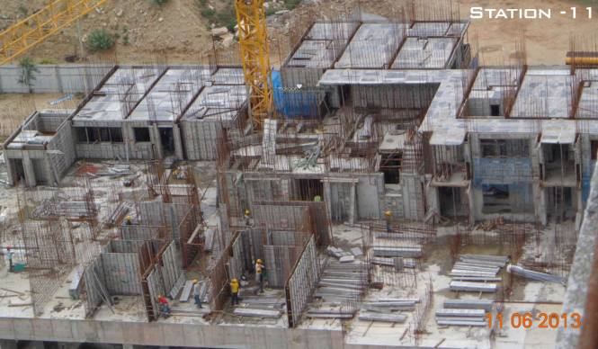 Aliens Space Station Township Construction Status