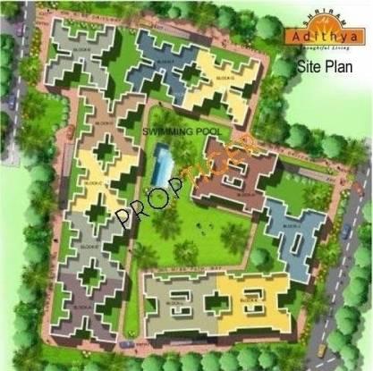 Shriram Adithya Site Plan