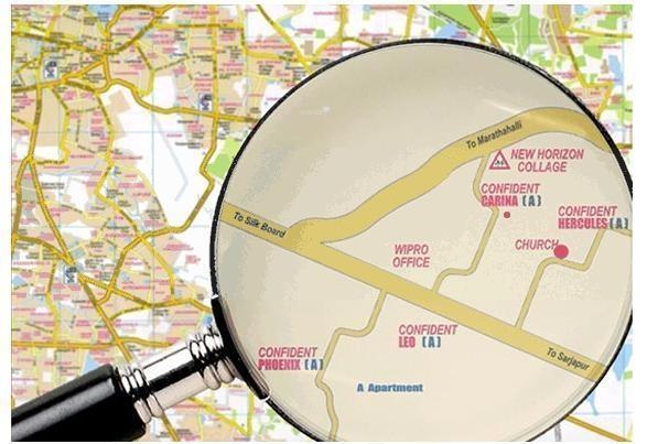 Confident Carina Location Plan