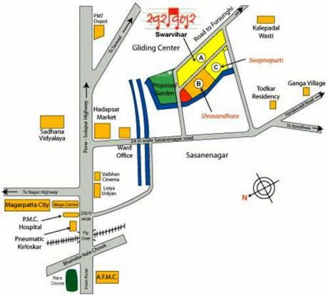 Naiknavare Swarvihar Location Plan