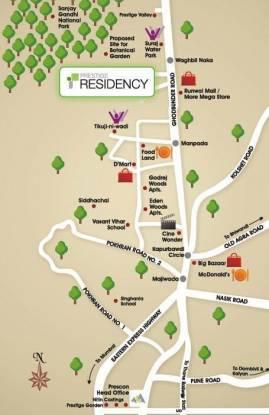 Prescon Prestige Residency Location Plan