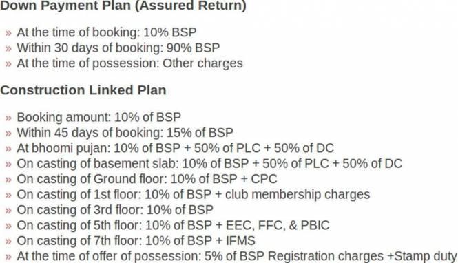 Imperia Rubix Payment Plan