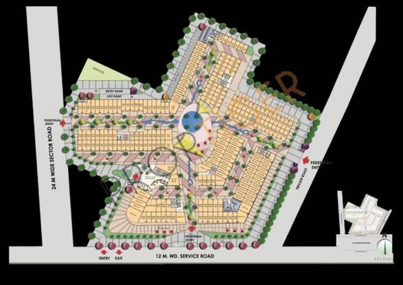 Imperia Rubix Site Plan